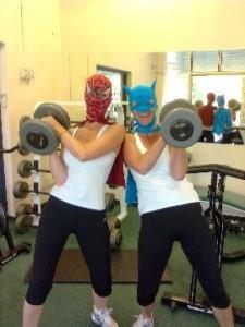 Spiderwoman & Batwoman
